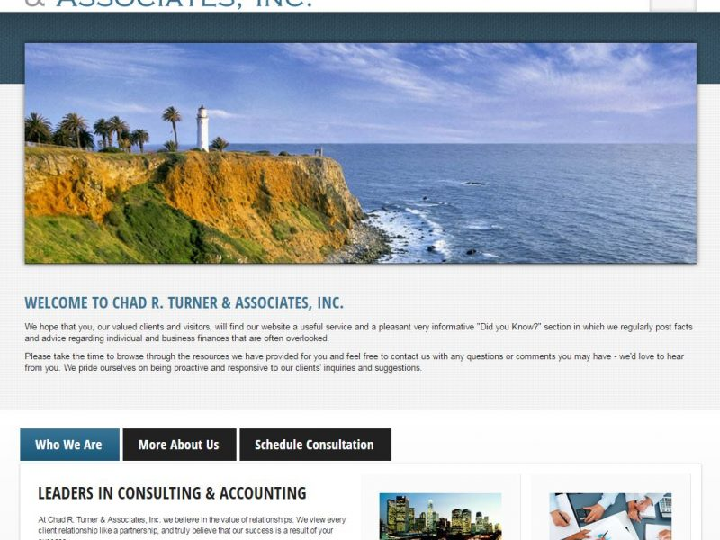 Accountant Website Design crt1