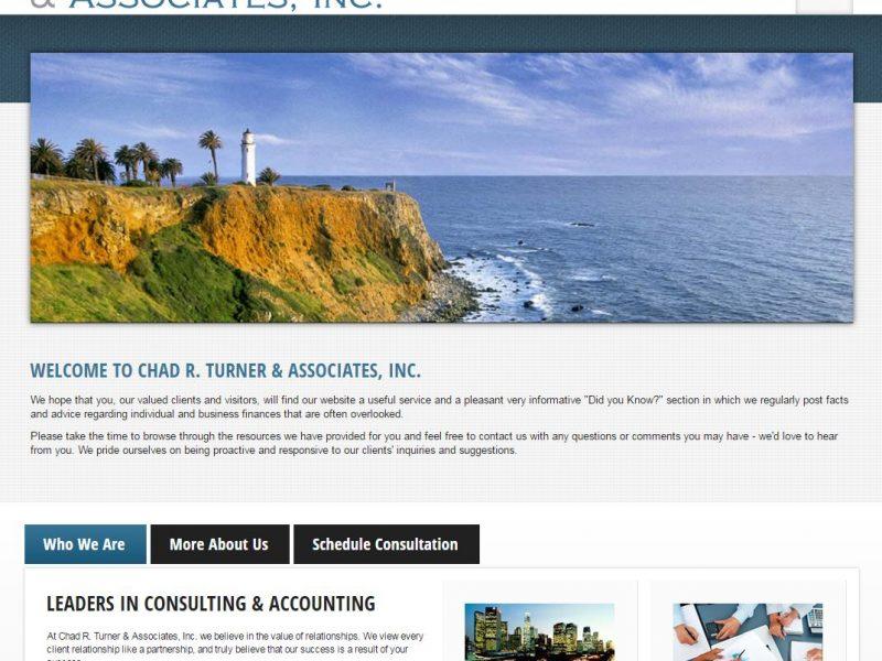 Accountant Website Design crt1