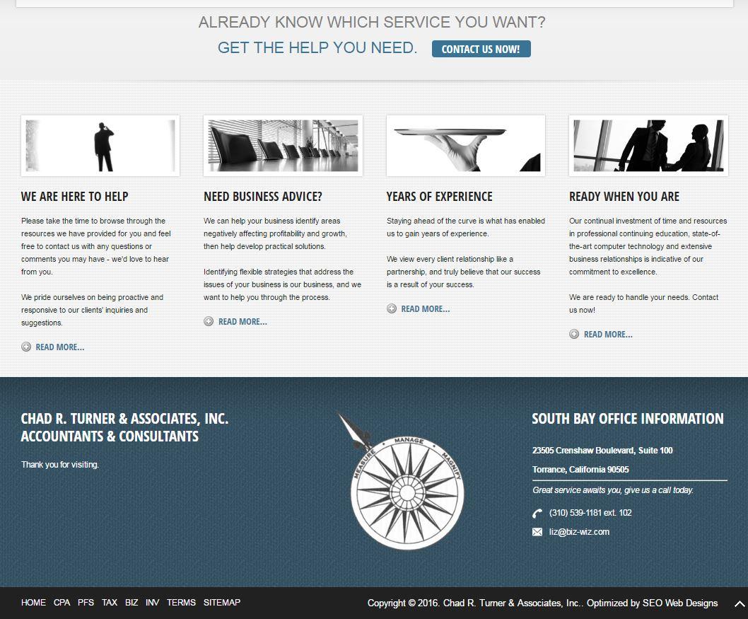 Accountant Website Design crt2