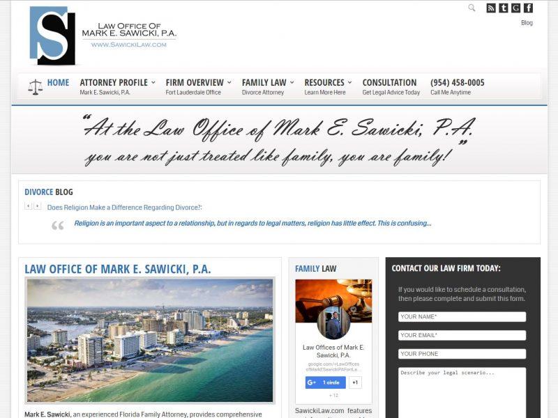 Attorney Website Design sl1