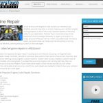 Auto Repair Website - Masters Touch Automotive Preview 2