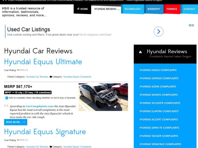 Car Dealer Website Design hso1