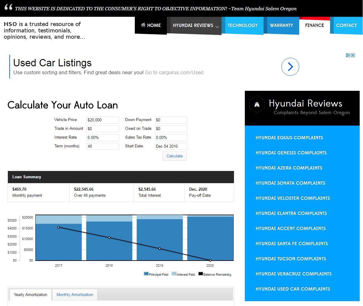 Car Dealer Website Design hso2