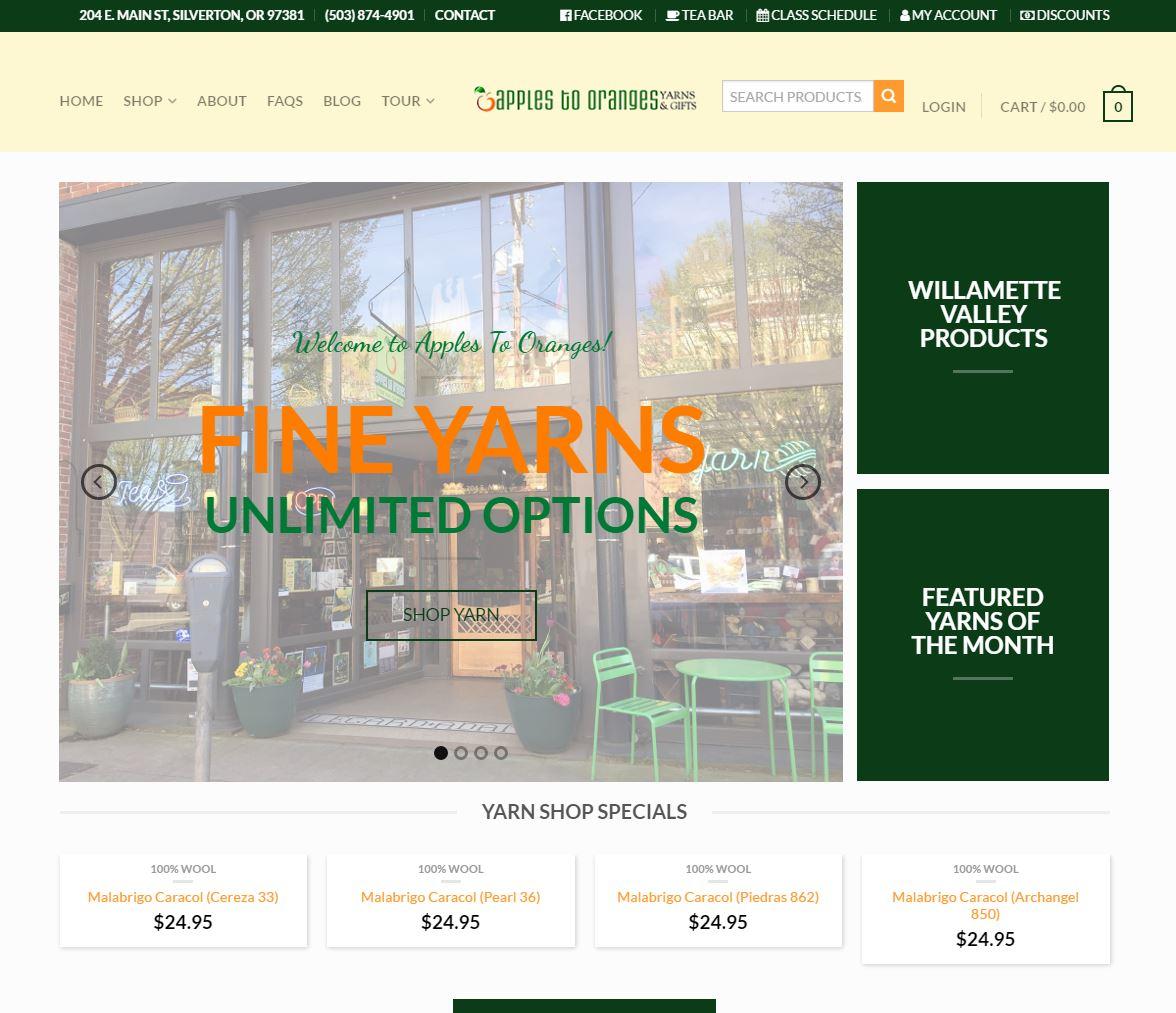 E-commerce Website Design a2o1