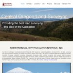 Land Surveyor Website Design ase1