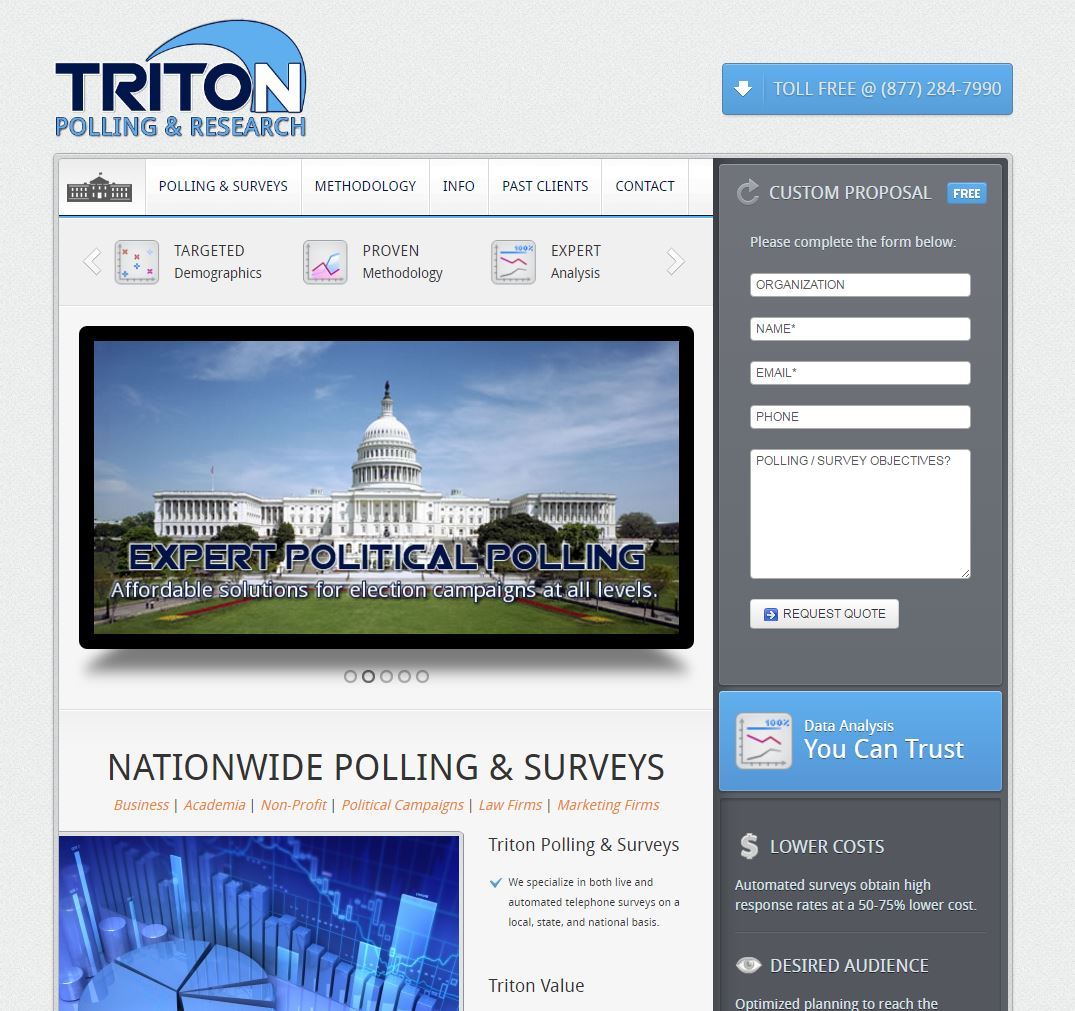 Market Research Website Design tpr1