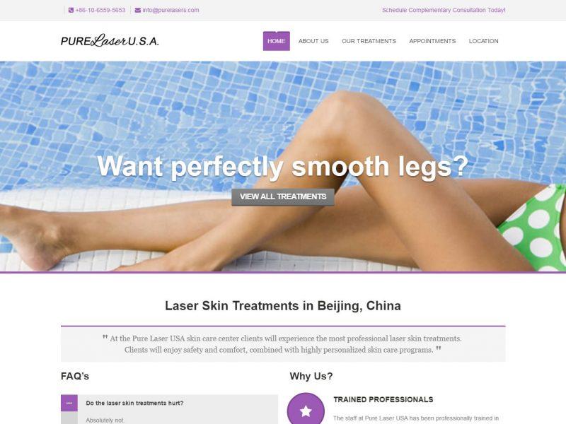 Medical Clinic Website Design pl1