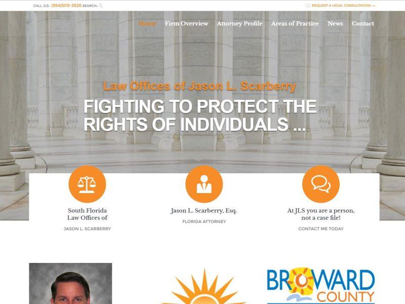 Attorney Website Design jls1