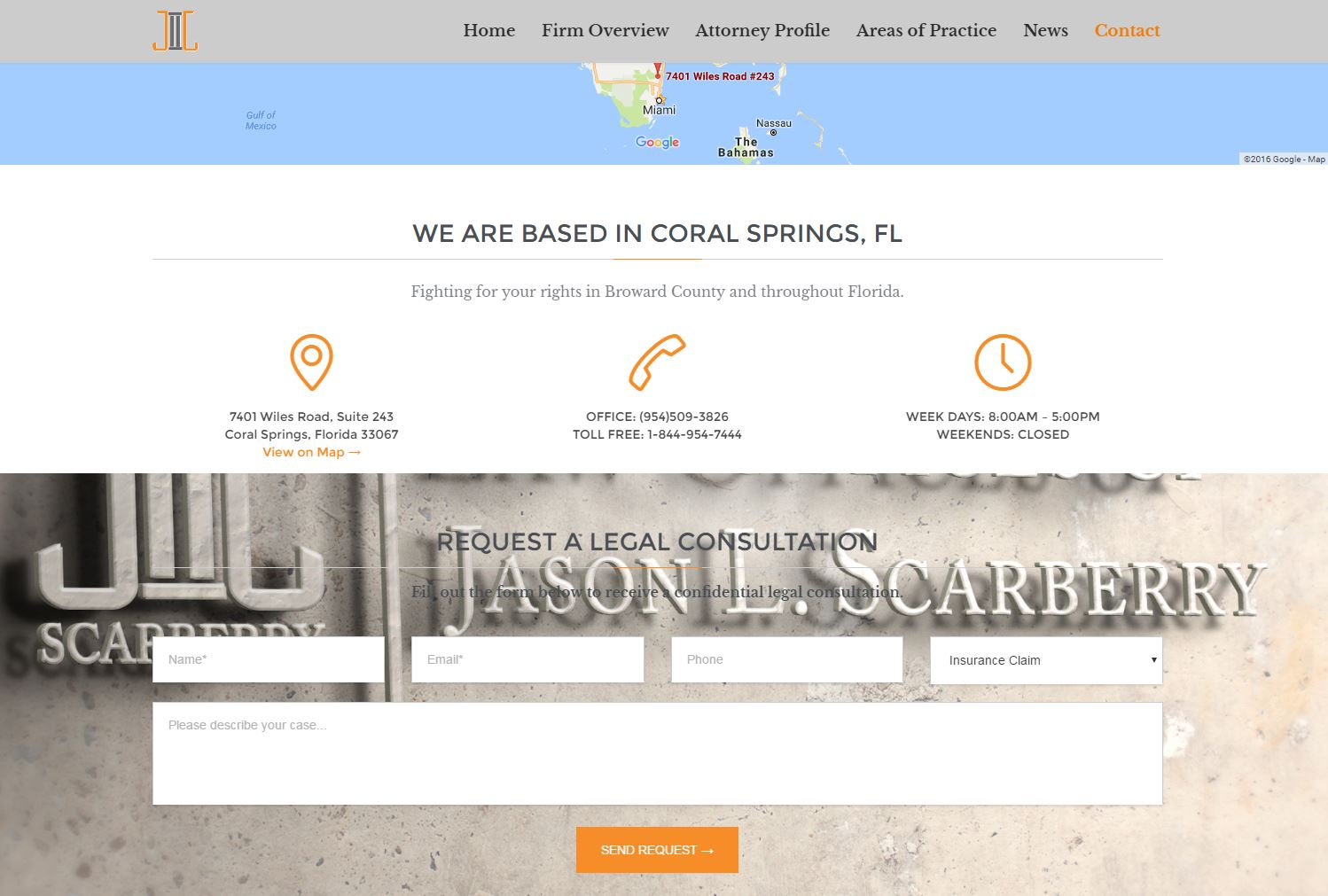 Attorney Website Design jls3