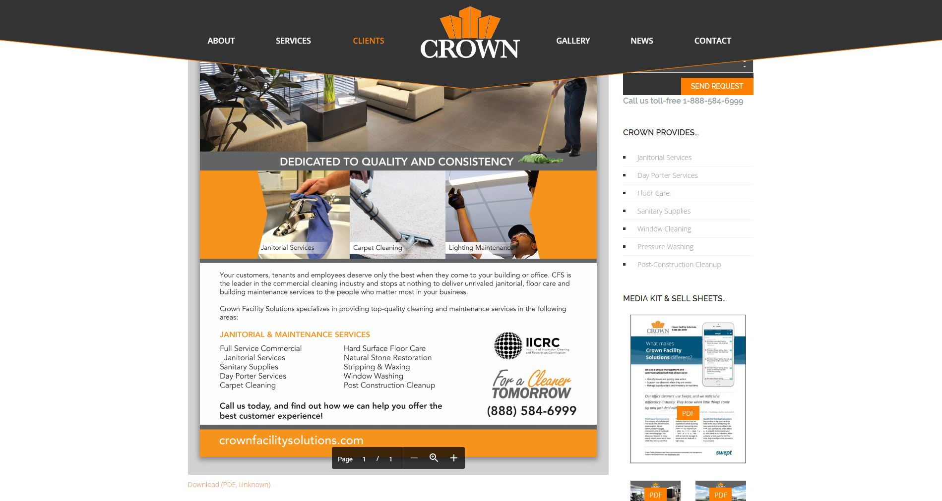 Contractor Website Design cfs2