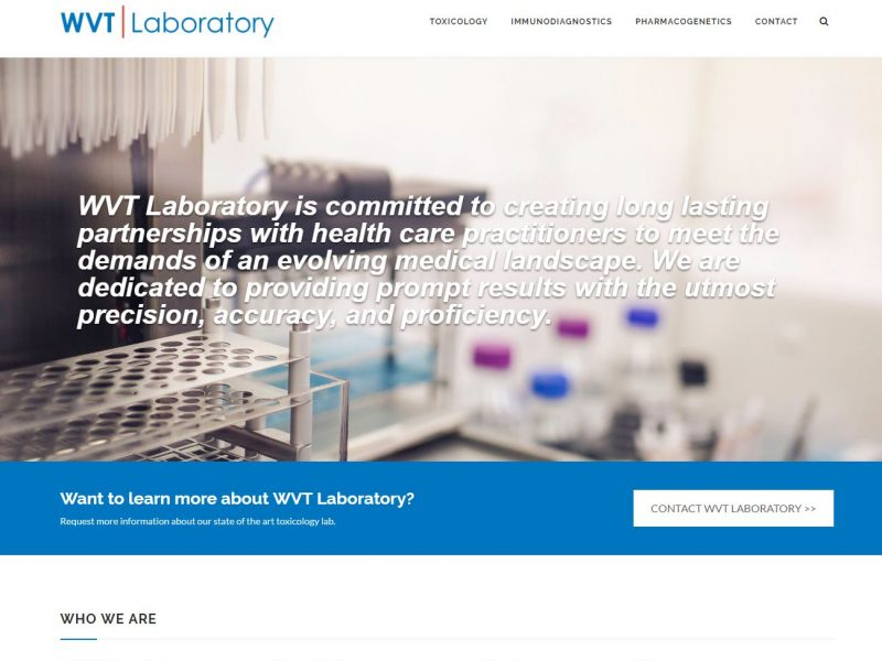 Medical Website Design wvt1