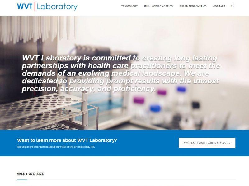 Medical Website Design wvt1