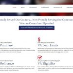 Mortgage Finance Website Design vm1