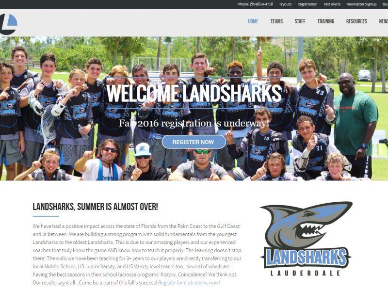 Sports Club Team Website Design ll1