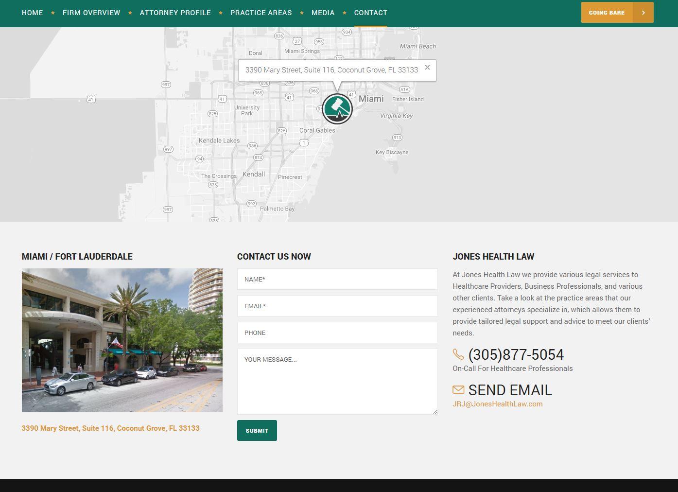 Attorney Website Design jhl4