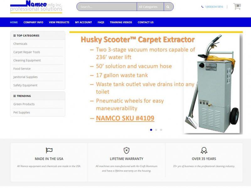E-commerce Website Design nmfg1