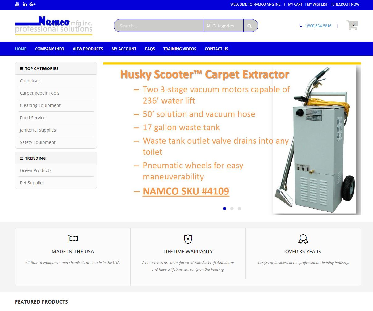E-commerce Website Design nmfg1