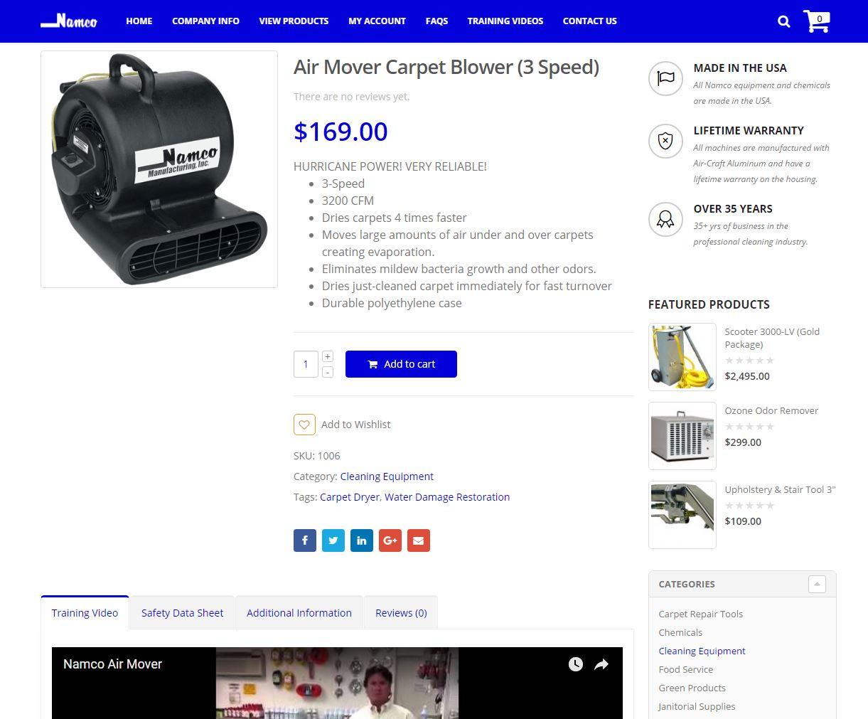 E-commerce Website Design nmfg2