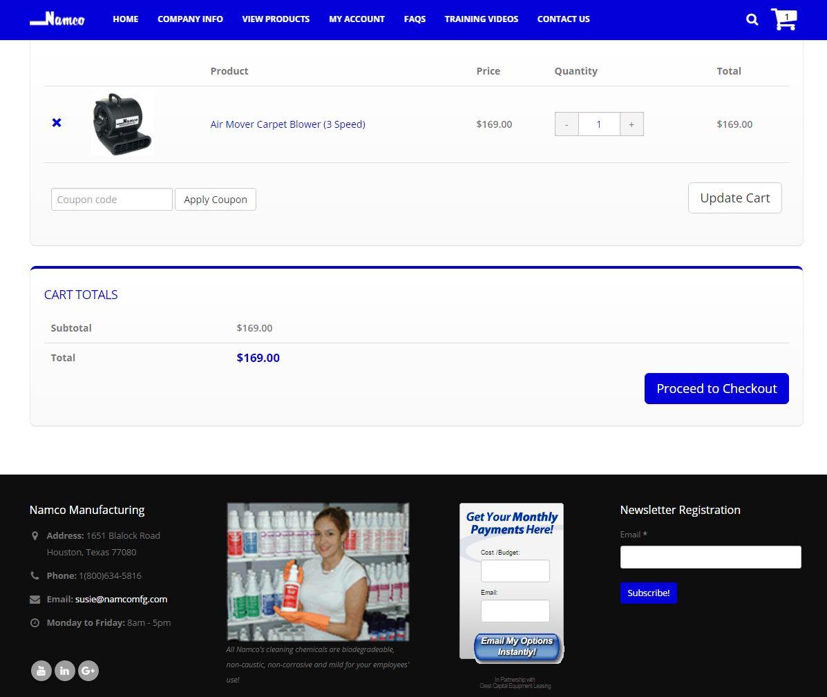 E-commerce Website Design nmfg3