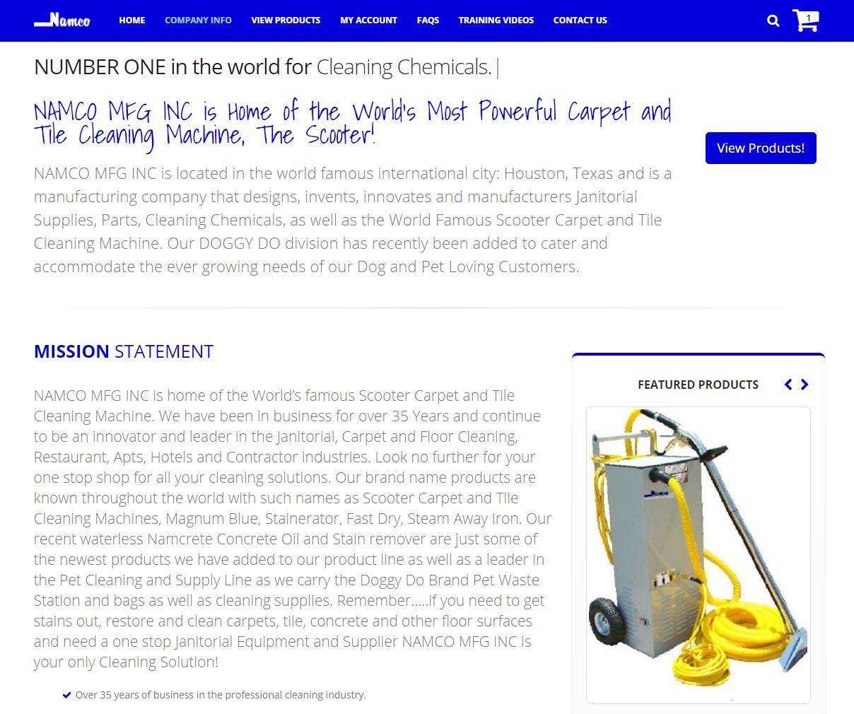 E-commerce Website Design nmfg4