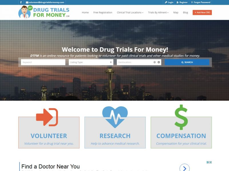 Medical Website Design dtfm1