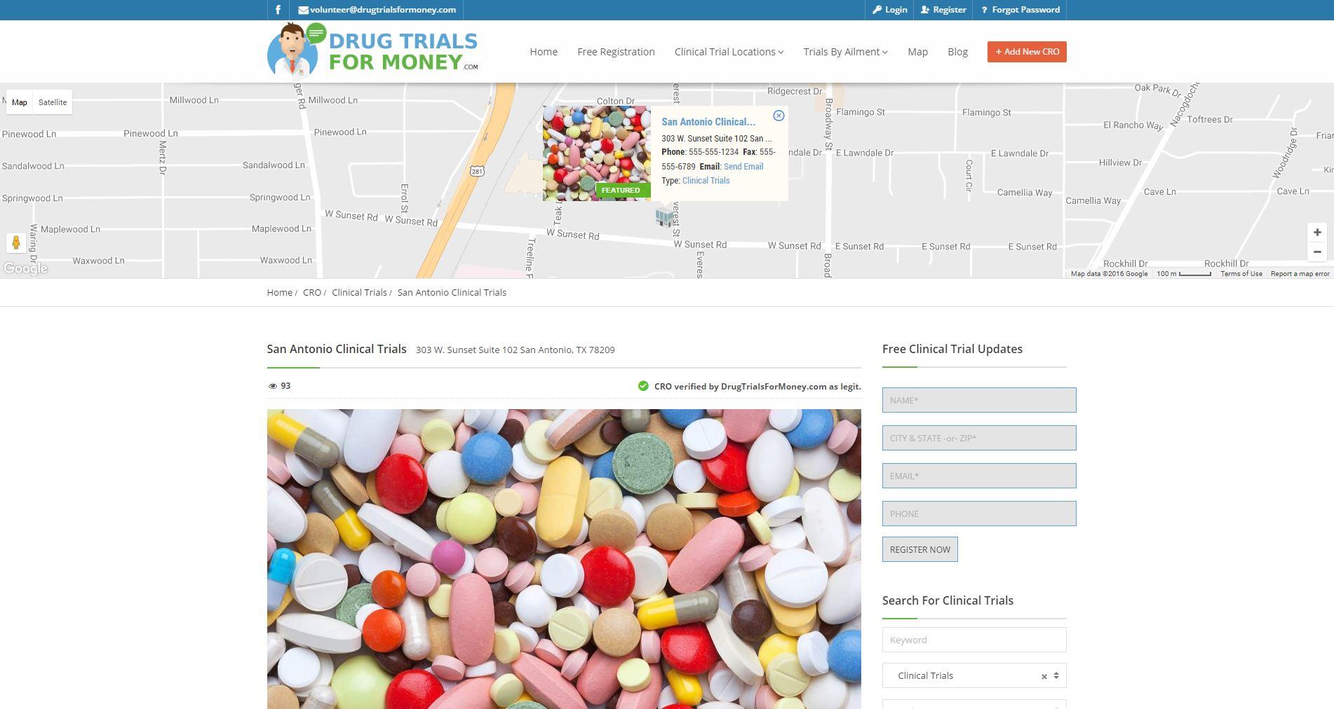 Medical Website Design dtfm2