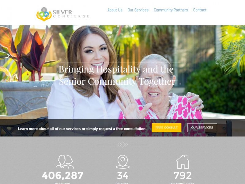 Senior Care Website Design scoc1