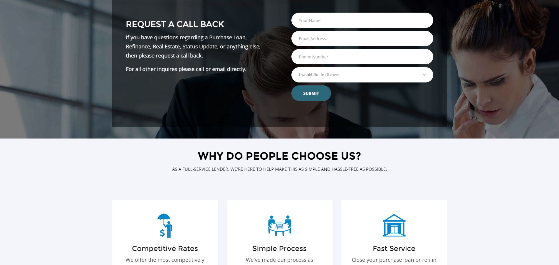 Mortgage Website Design 365hl5