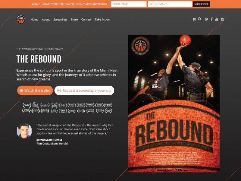 Movie Film Website Design rtf1